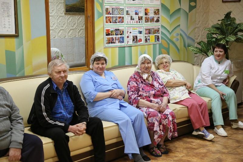 дом интернат для престарелых